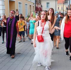 FOTO: Ljutomer preplavili strašni zombiji