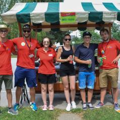 FOTO: Mladi »švicali« v Turnišču
