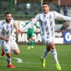 FOTO: Mura Krškemu nasula pet golov