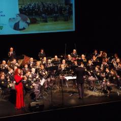 FOTO: V Murski Soboti priredili dobrodelni koncert Policijskega orkestra