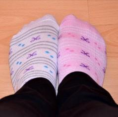 Ste si danes obuli različni nogavici?