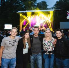 FOTO in VIDEO: Plavi orkestar navdušili mlado in staro na Soboških dnevih