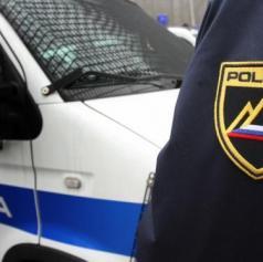 Tihotapila 12 tujcev in med begom trčila v policijsko vozilo