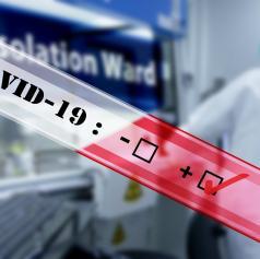 Drugi dan zapored dve novi okužbi s covid-19