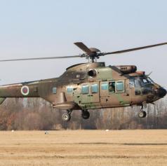 Iz rakičanskega letališča s helikopterjem odpeljali obolelo osebo