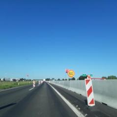 Na pomurski avtocesti prišlo do prometne nesreče