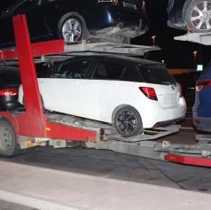 Pomurski policisti odkrili ukradeno vozilo