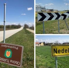 Občina Turnišče išče nepridiprave, ki uničujejo prometne znake