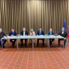 Podpisali sporazum za izvedbo kolesarske povezave Lendava-Dobrovnik-Kobilje