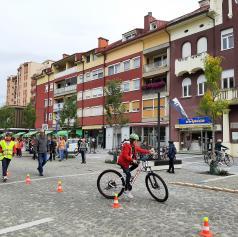 FOTO: Dan brez avtomobila obeležili tudi v Murski Soboti