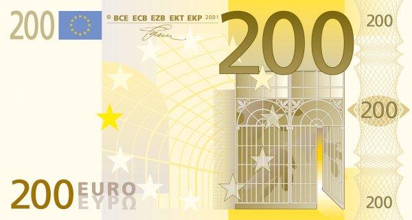 Na banki v murski soboti odkrit ponarejen bankovec za 200 for Schlafsofa 300 euro